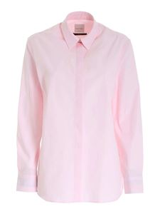 Paul Smith - Contrasting detailed shirt in pink