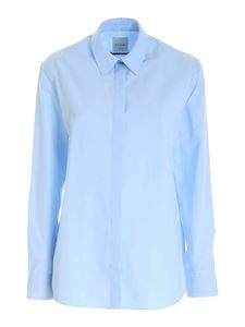 Paul Smith - Contrasting detailed shirt in light blue