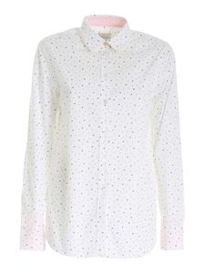 Paul Smith - Notes print shirt in white