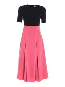 Paul Smith - Crewneck dress in pink and black