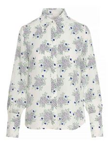 Chloé - Floral shirt in white