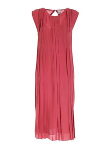 Paul Smith - Pleated dress in antique pink