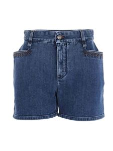 Chloé - Denim shorts in blue