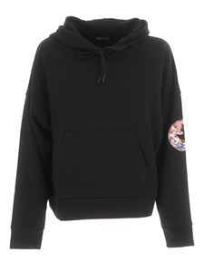 Save The Duck - Maxi logo hoodie in black