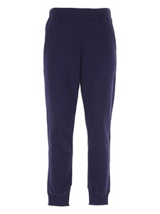 Save the duck - Pantaloni in felpa logati blu