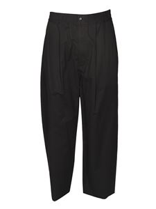 Ambush - Pantalone morbido con coulisse nero
