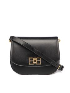 Bally - Beckie leather crossbody bag in black