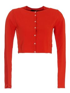 Roberto Collina - Cropped shirt in red