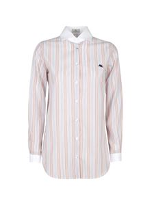 Etro - Patterned striped shirt in pink