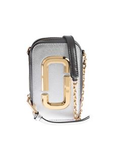 Marc Jacobs  - The Hot Shot bag in silver color