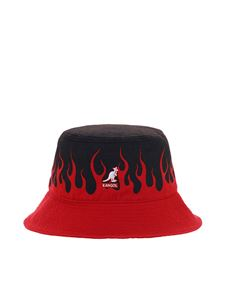 Vision Of Super - Two-tone bucket hat red and black