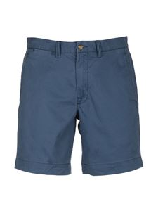 POLO Ralph Lauren - Bermuda in cotone stretch blu