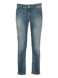 Dondup - Cropped jeans in blue