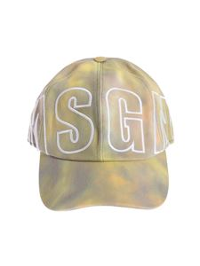 MSGM - Multicolor lettering hat