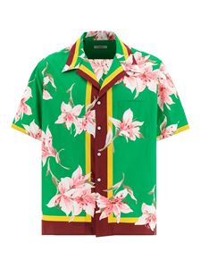 Valentino - Floral print shirt in green