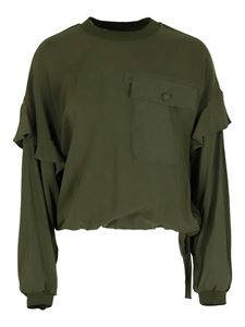 Twin-Set - Viscose blouse in green