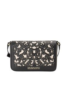 Ermanno by Ermanno Scervino - Faux leather and canvas bag