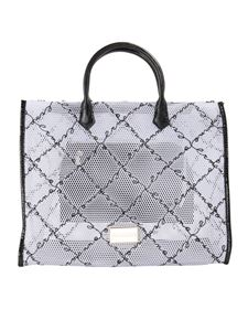 Ermanno by Ermanno Scervino - Drilled fabric tote bag