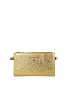 Patrizia Pepe - Laminated leather wallet in gold