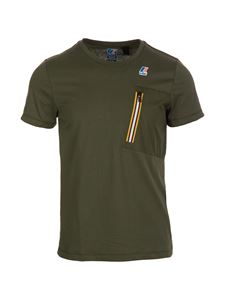 K-way - Le Vrai 3.0 T-shirt in green