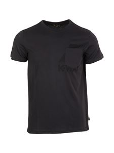 K-way - Le Vrai 3.0 T-shirt in blue