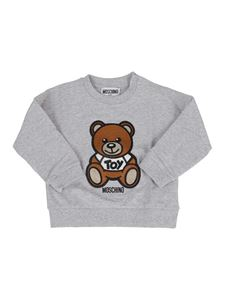 Moschino Kids - Felpa Teddy Bear grigia