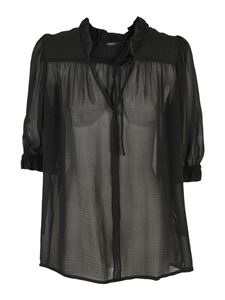 Seventy - Victorian style blouse in black