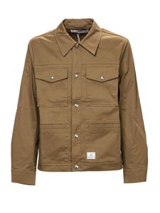 Department 5 - Butler overshirt in camel color
