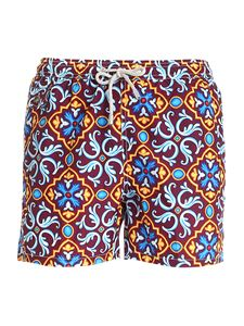 MC2 Saint Barth - Lighting 70 multicolor swim shorts