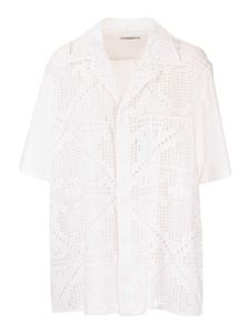 Valentino - Cotton shirt in white