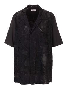 Valentino - Cotton shirt in black