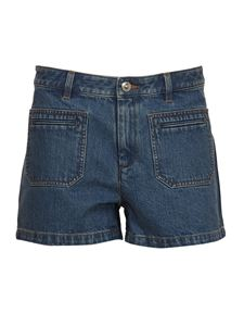 A.P.C. - Roma shorts in blue