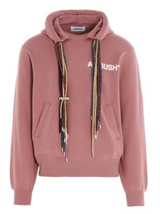 Ambush - Multicord hoodie in pink