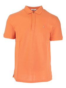 Valentino - Iconic Stud polo shirt in orange