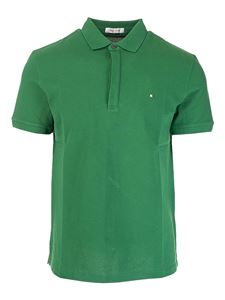 Valentino - Iconic Stud polo in green