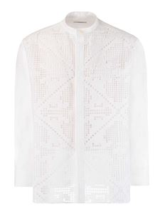 Valentino - Korean shirt in white
