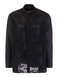 Valentino - Korean shirt in black