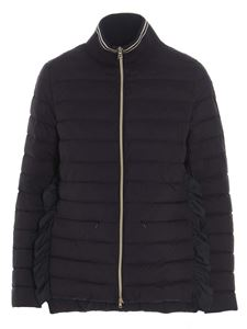 Herno - A-shape Nuage quilted jacket in black