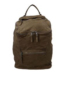 Giorgio Brato - External pockets backpack in brown