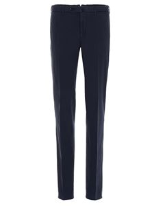 SLOWEAR Incotex - Chino trousers in blue