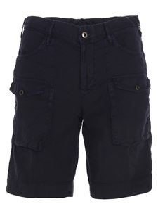 Incotex - Cargo bermuda shorts in blue