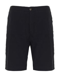 Incotex - Slim bermuda shorts in black