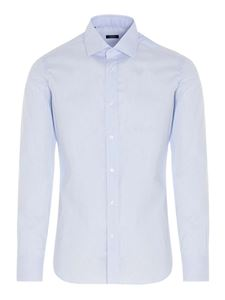 Barba - Striped shirt in light blue