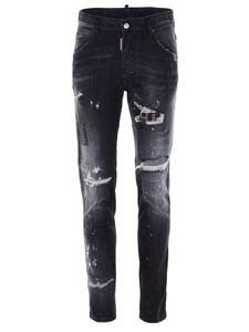 Dsquared2 - Skater jeans in black