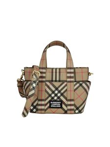 Burberry - Daphne tote in Archive Beige