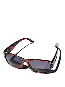 Maria Enrica Nardi - Anemone sunglasses in red and black