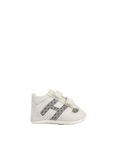 Olympia baby shoes in white