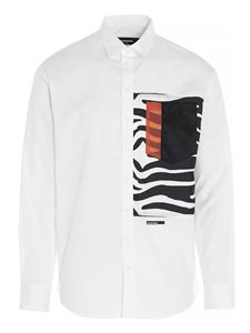 Dsquared2 - Punk Graph shirt in white
