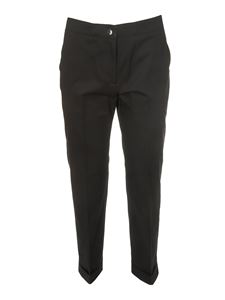 Etro - Ironed crease pants in black