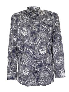 Etro - Paisley shirt in white and blue
